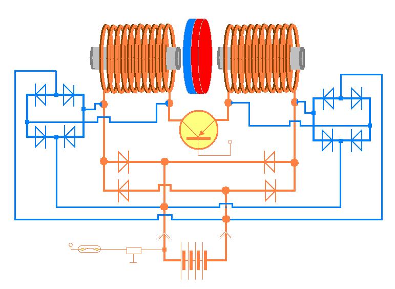 Альтернативный генератор энергии своими руками 22