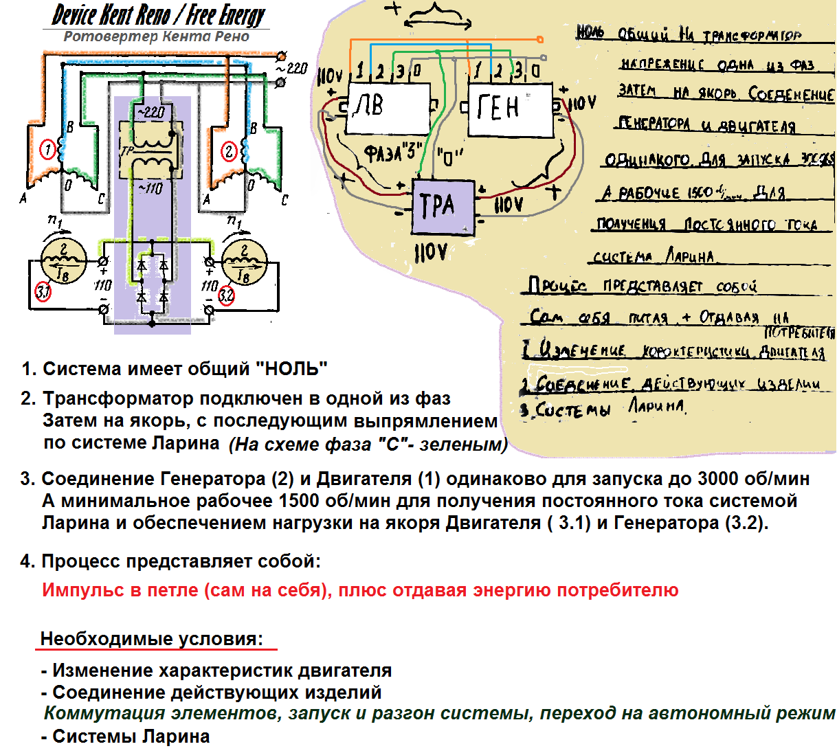 схема подключения генератора с самовозбуждением 220в